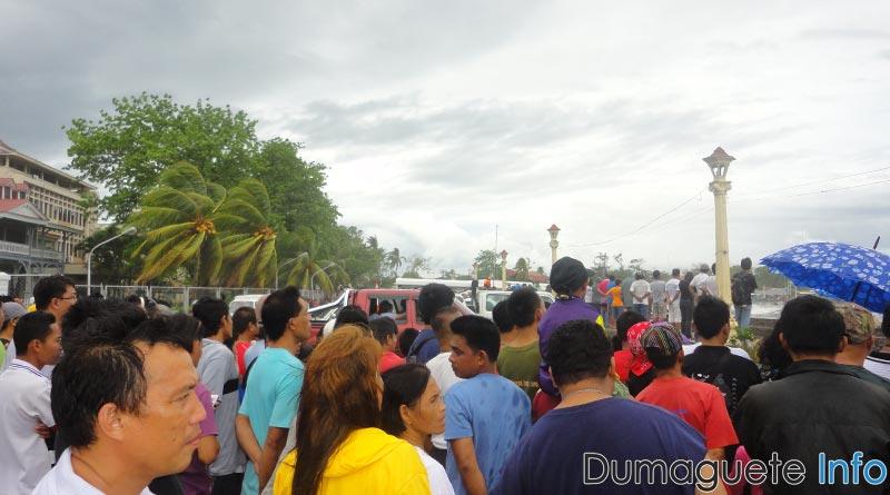 Dumaguete City heavy- ain
