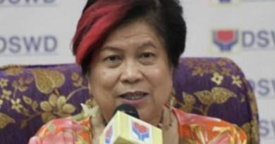 DSWS Secretary Corazon Soliman