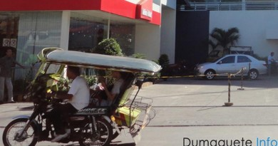 tricycle drivers in Dumaguete