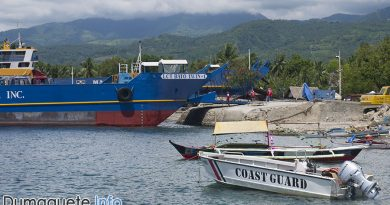 Philippine Coast Guards with Port Power