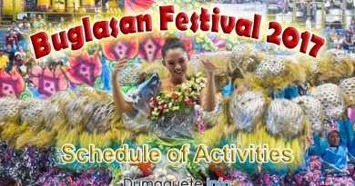 Buglasan 2017 schedule of activities released