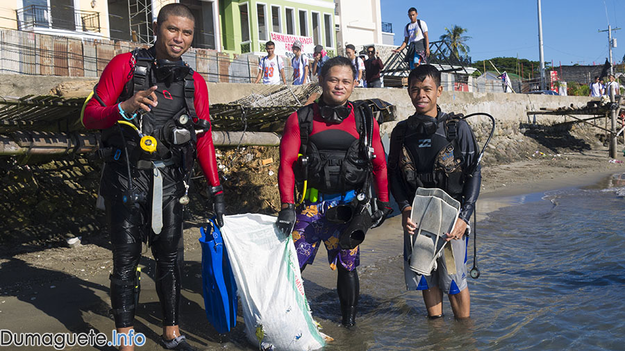 Scuba Dive Clean Up -Dumaguete