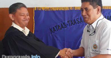 Negros Oriental Governor Mark Macias