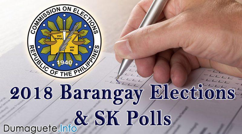 2018 Barangay Election & SK Polls