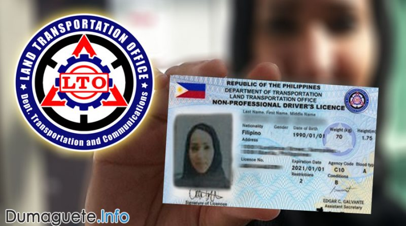 Driver's License Card – 5 Years Validity