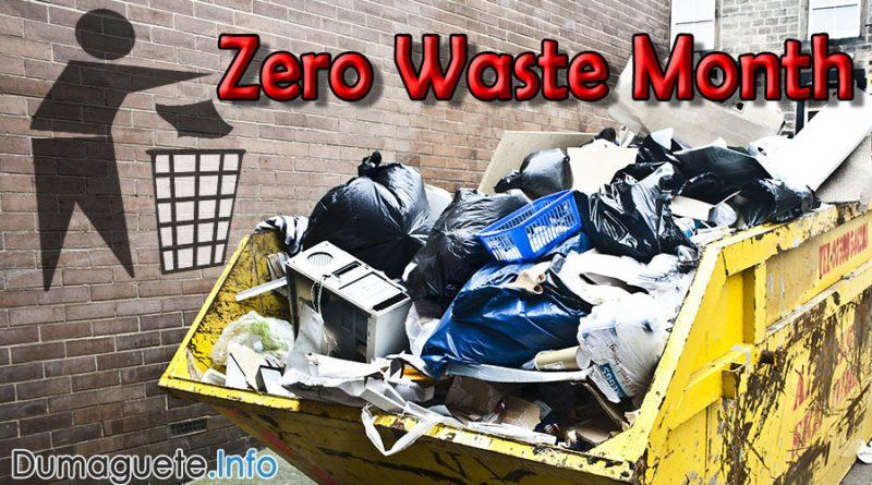 Dumaguete Sanitary Landfill & Zero Waste Month