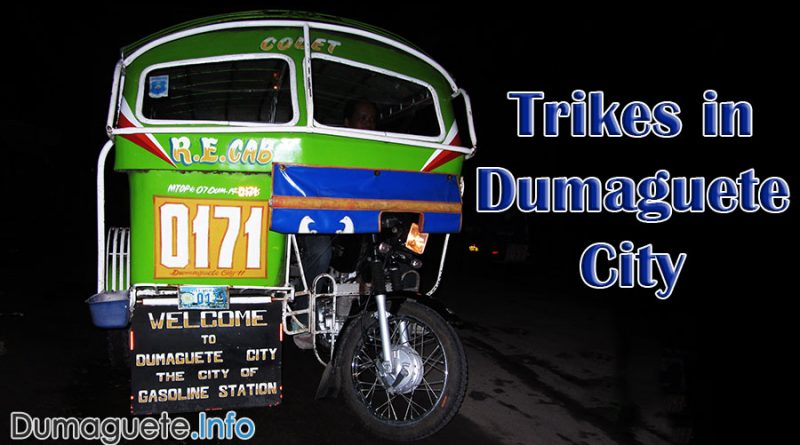 Renewal of Permits for Trike Drivers in Dumaguete