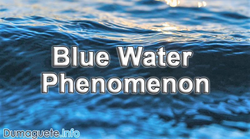 Blue Water Phenomenon in Blue River of Dauin