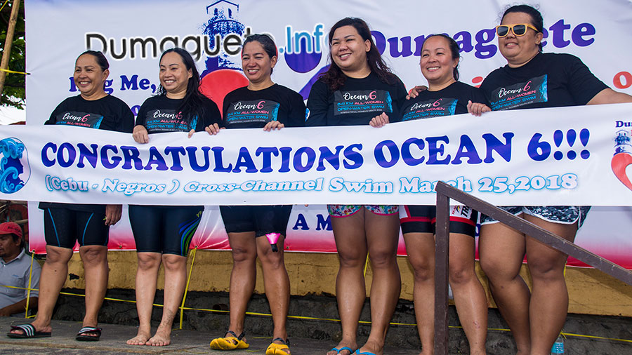 Ocean 6-Sibulan Finish line