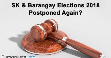 SK & Barangay Elections - Postpones Again?