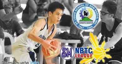 Saint Louis School Don Bosco Dumaguete - Gains Ground in NBTC