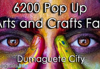 6200 Pop Up Arts and Crafts Fair in Dumaguete City