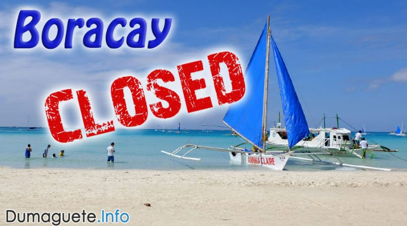 Duterte to Shutdown Boracay for 6 Months