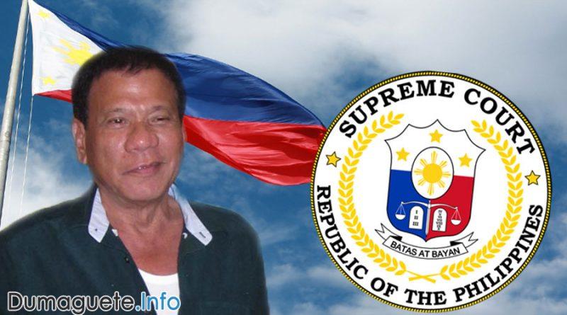 Supreme Court Chief Justice Maria Lourdes Sereno an Enemy of Duterte