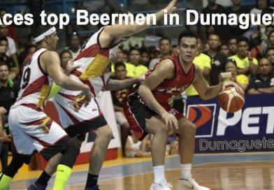 Aces top Beermen in Dumaguete