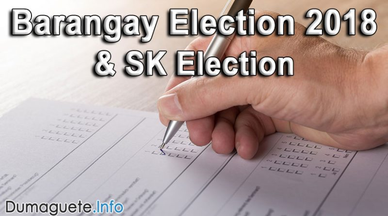 Barangay Election 2018 – Poll Hotspots