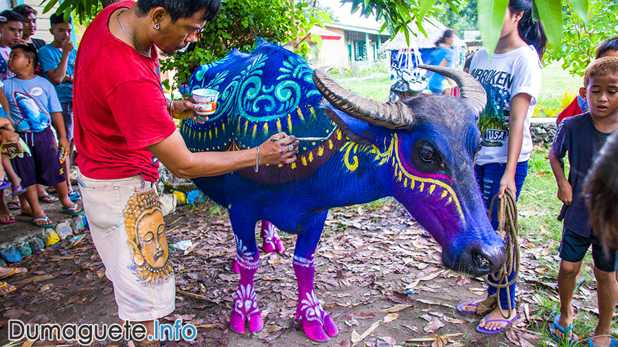 Carabao de Colores 2018 Carabao Painting - Vallehermoso - Negros Oriental