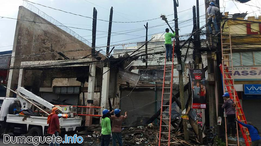 Times Mercantile - Dumaguete Destroyed by Fire