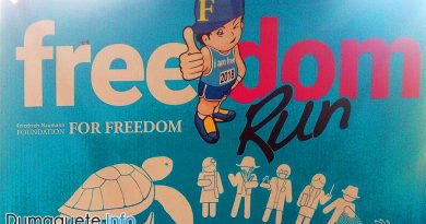 Freedom Run in Dumaguete City