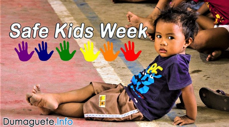 Safe Kids Week in Dumaguete City - Children's Games