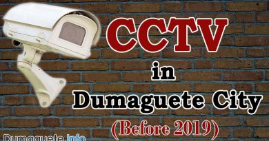 Dumaguete CCTVs – Before 2019