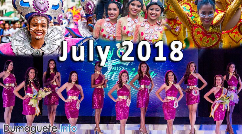 July 2018 Events in Negros Oriental