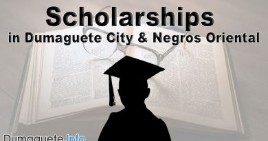 Scholarships in Dumaguete City & Negros Oriental