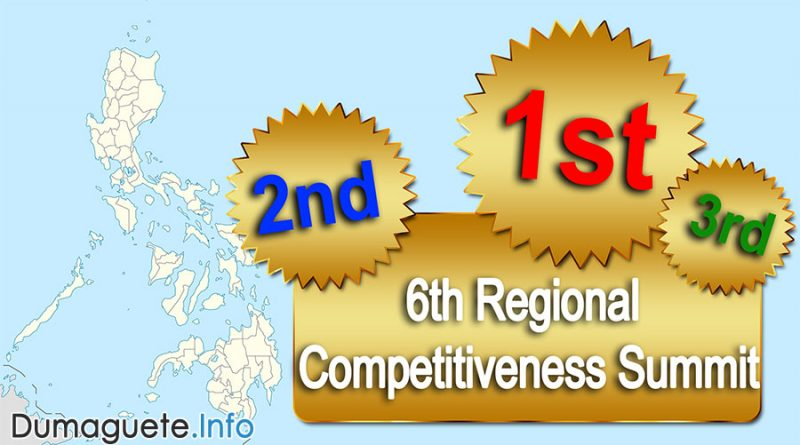 6th Regional Competitiveness Summit in Central Visayas