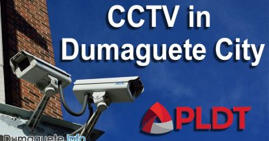 CCTV in Dumaguete City by PLDT