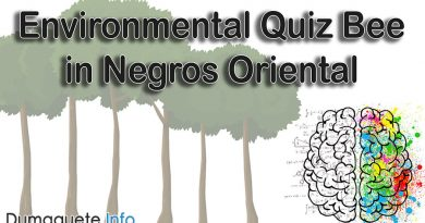 Environmental Quiz Bee in Negros Oriental