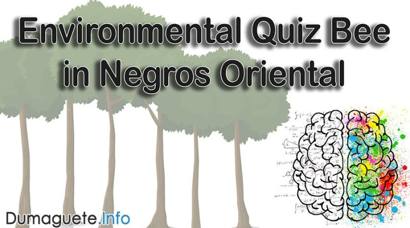Environmental Quiz Bee in Negros Oriental