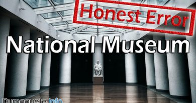 "National Museum in Dumaguete an ""Honest Error"""