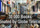 30,000 Books Donated by Globe Telecom