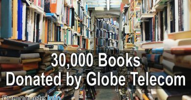 30,000 Books Donated by Globe Telecom