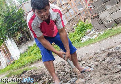 Amistad Road - Barangay Bagacay - Road Fix
