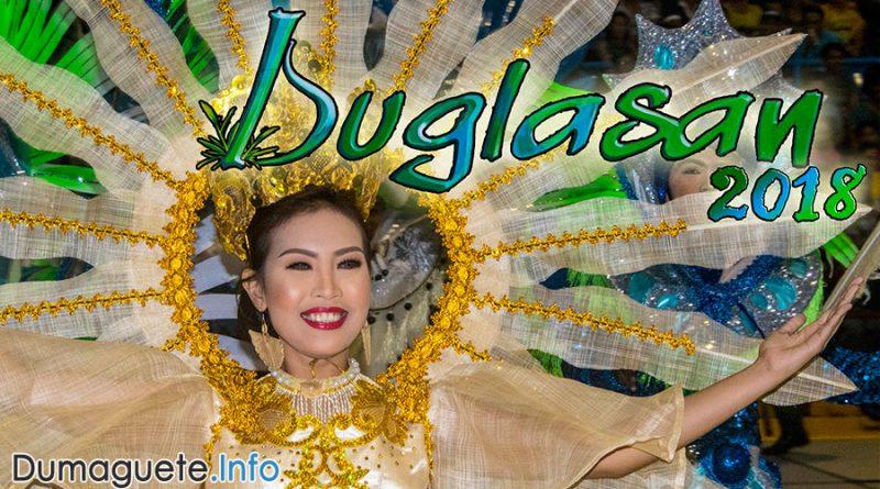 Buglasan Festival 2018 - Schedule - Negros Oriental
