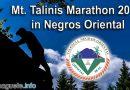 Mt. Talinis Marathon 2018 in Negros Oriental