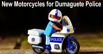 New Motorcycles for Dumaguete Police