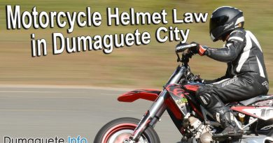 Oplan Clean Riders & Helmet Law in Dumaguete City