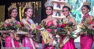Miss Negros Oriental 2018 - Winner - Top 5