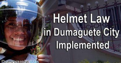 Helmet Law in Dumaguete Implemented