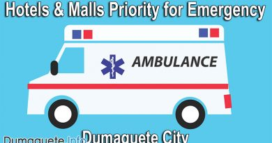 Hotels and Malls Priority for Emergency in Dumaguete