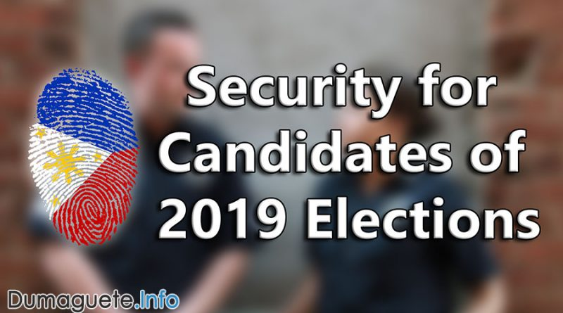 Security for Candidates of 2019 Elections
