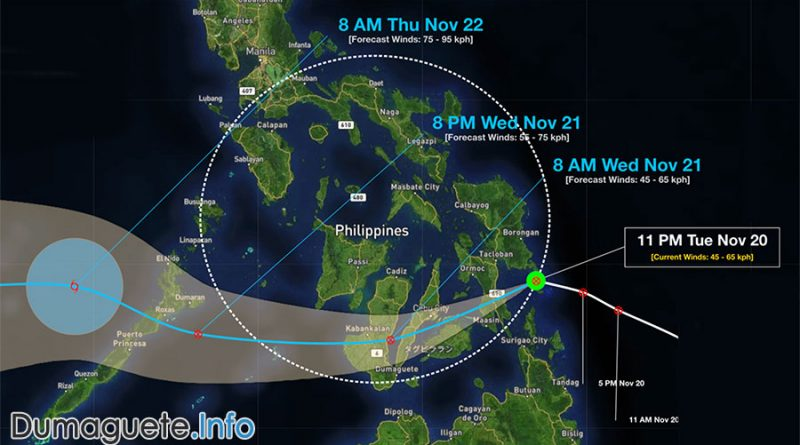 Tropical Depression Samuel Hits Eastern Samar