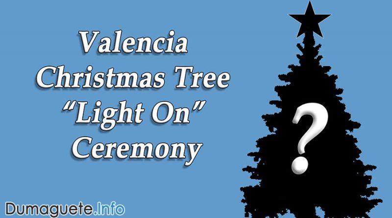 "Valencia Christmas Tree ""Light On"" Ceremony"