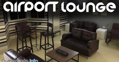 First Airport Lounge in Dumaguete City