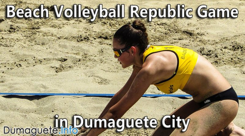 Beach Volleyball Republic Game in Dumaguete City