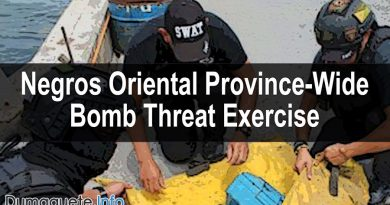 Negros Oriental Province-Wide Bomb Threat Exercise