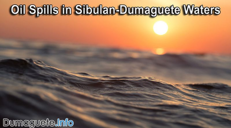 Oil Spills in Sibulan-Dumaguete Waters