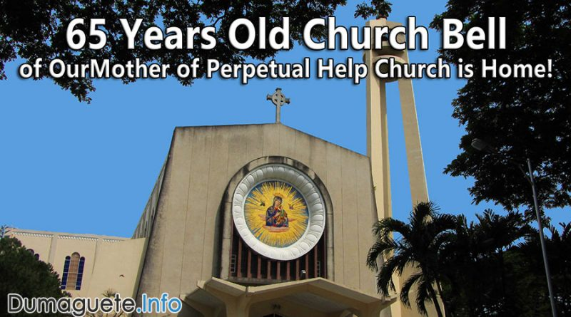 Perpetual Help Church Bell is Home
